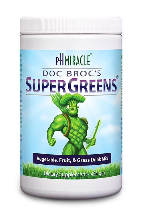 Doc Broc's SuperGreens green drink powder